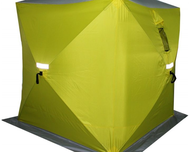 Сахалин 4 180x180x200cm Yellow-Grey