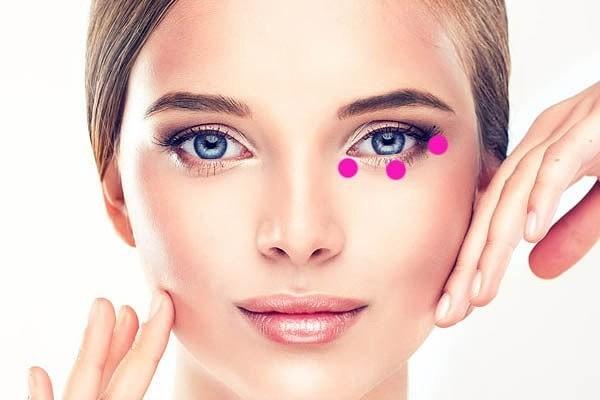 Супер упражнение от «синяков» и мешков под глазами