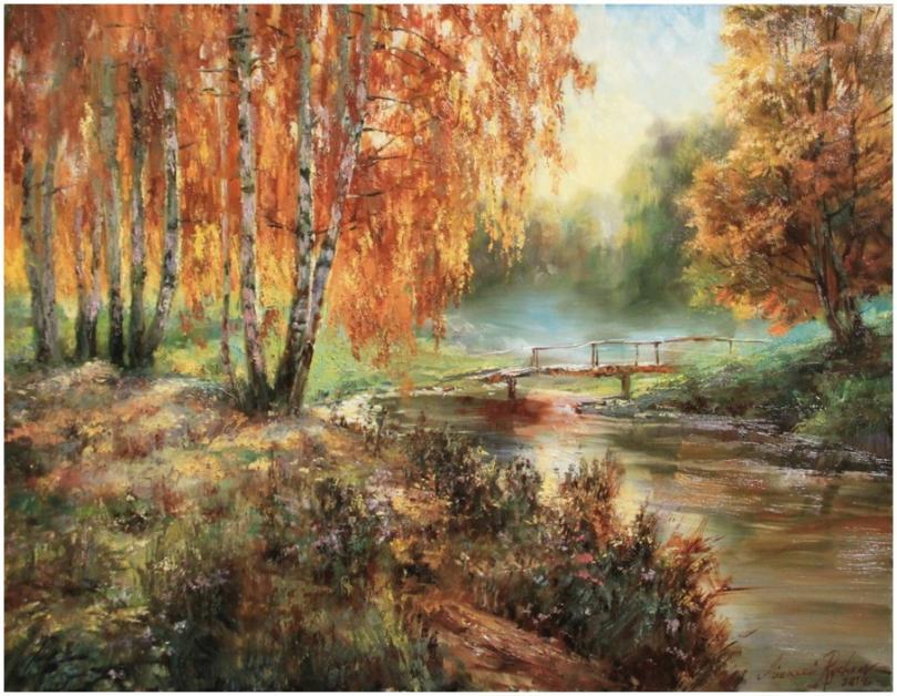 Сочные краски художника Алексея Рычкова